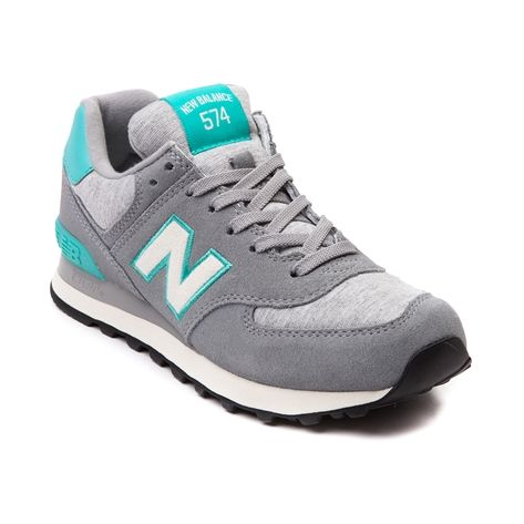 fff524f10fba Shop for Womens New Balance 574 Athletic Shoe in Gray Turquoise at Journeys  Shoes. Shop