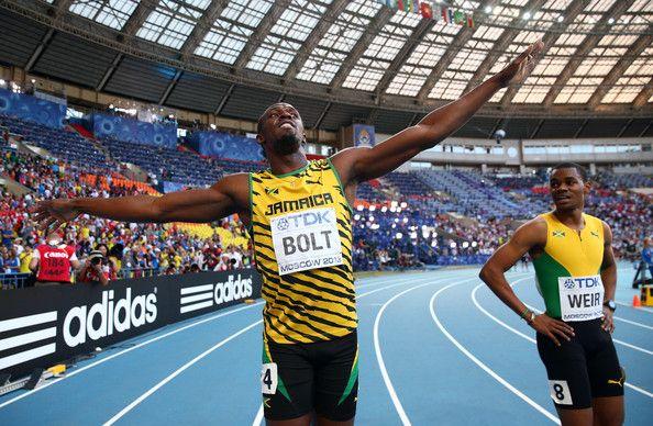 Usain Bolt Photos - 14th IAAF World Athletics Championships Moscow 2013 - Day Eight - Zimbio