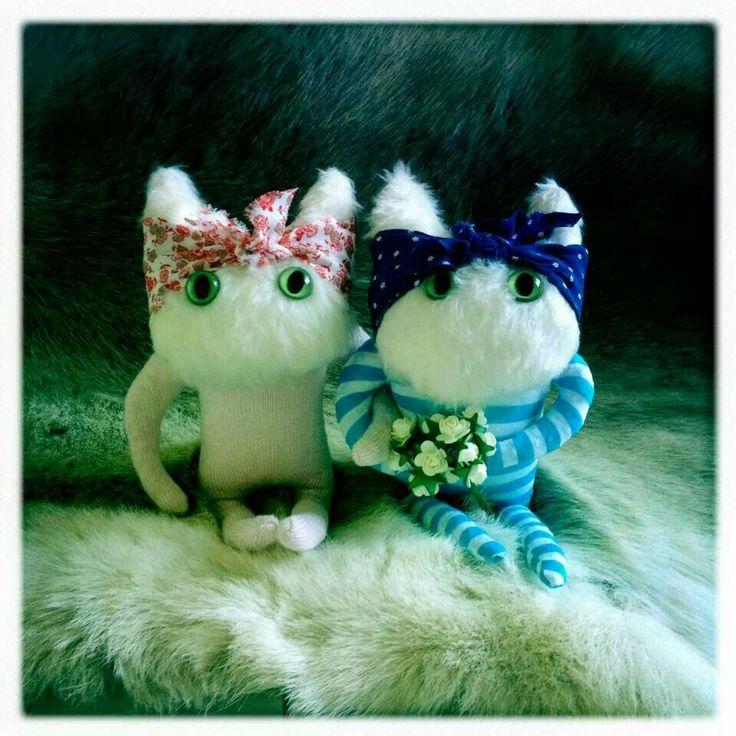 Peggy dolls - Wedding presents!