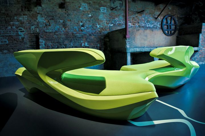 Zephyr Sofa by Zaha Hadid