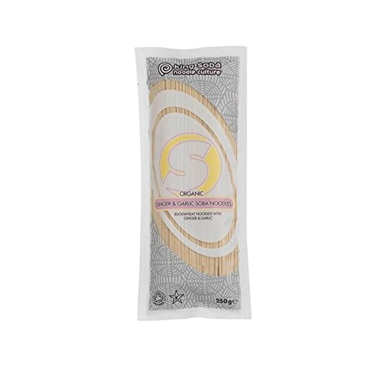 King Soba Ginger Garlic Soba Noodles 250g - Pack of 4 -- Awesome products selected by Anna Churchill