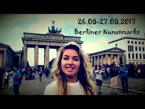 Hate boring gifts?! 26.08-27.08.2017 Berliner Kunstmarkt #Puchinaelena - YouTube