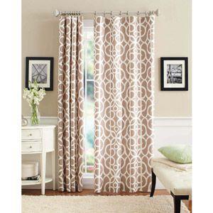 Walmart: Better Homes And Gardens Marissa Curtain Panel Living Room