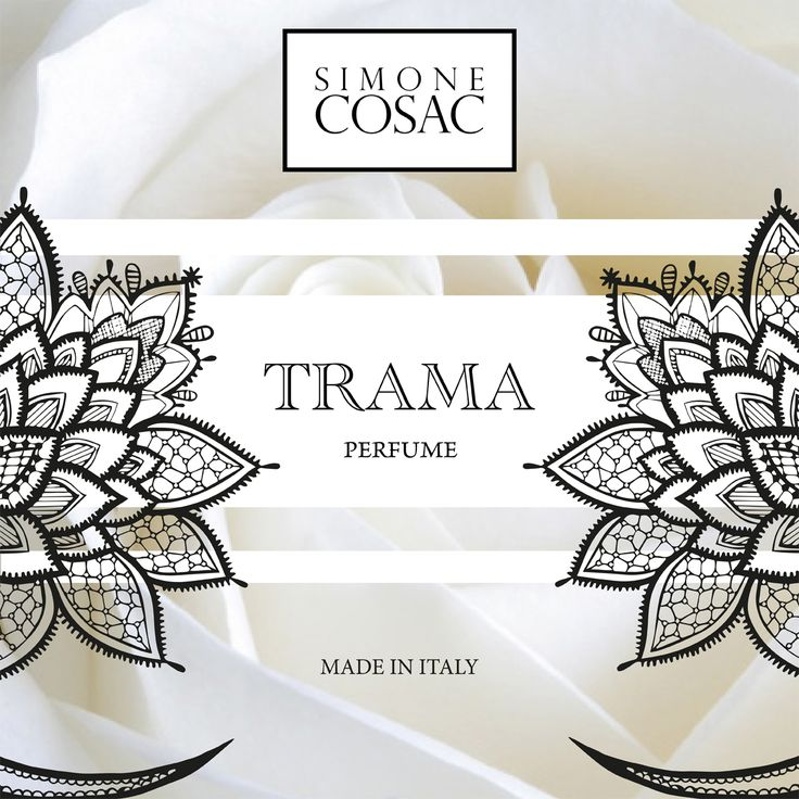 TRAMA one of the new Perfumes of Simone Cosac.