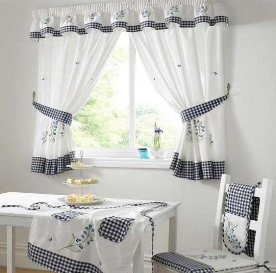 cortinas de cocina fotos de diseos cortinas para la cocina con cuadros