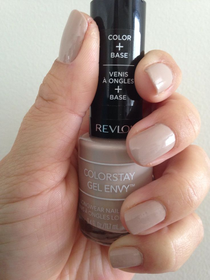 colours for my wedding day - Revlon Colorstay Gel Envy in Checkmate