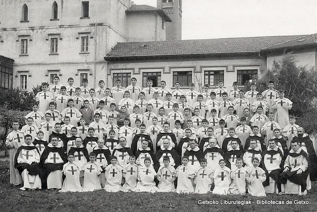 Novicios del convento trinitario de Algorta (Colección Trinitarios de Algorta) (ref. 01693)