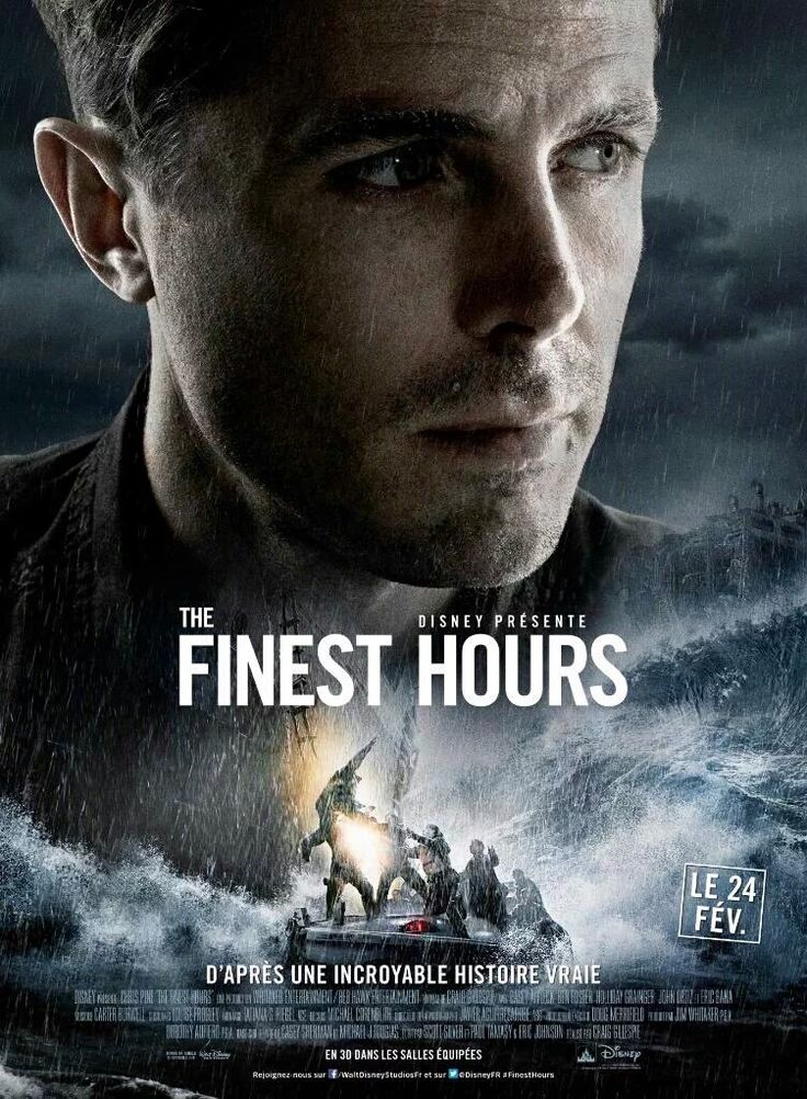 character posters for The Finest Hours