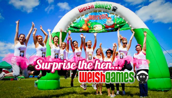 Cardiff Hen Weekend: If you are looking for a totally unique and fun way to spend your hen weekend in Cardiff, then Welsh Games is for you!  We host 9 amazing Welsh themed games,  a prize for the winner, photos of your day with us, and as much fun as you can shake a leek at! All for only £38.50 per person. www.welshgames.co.uk #Hen #Cardiff
