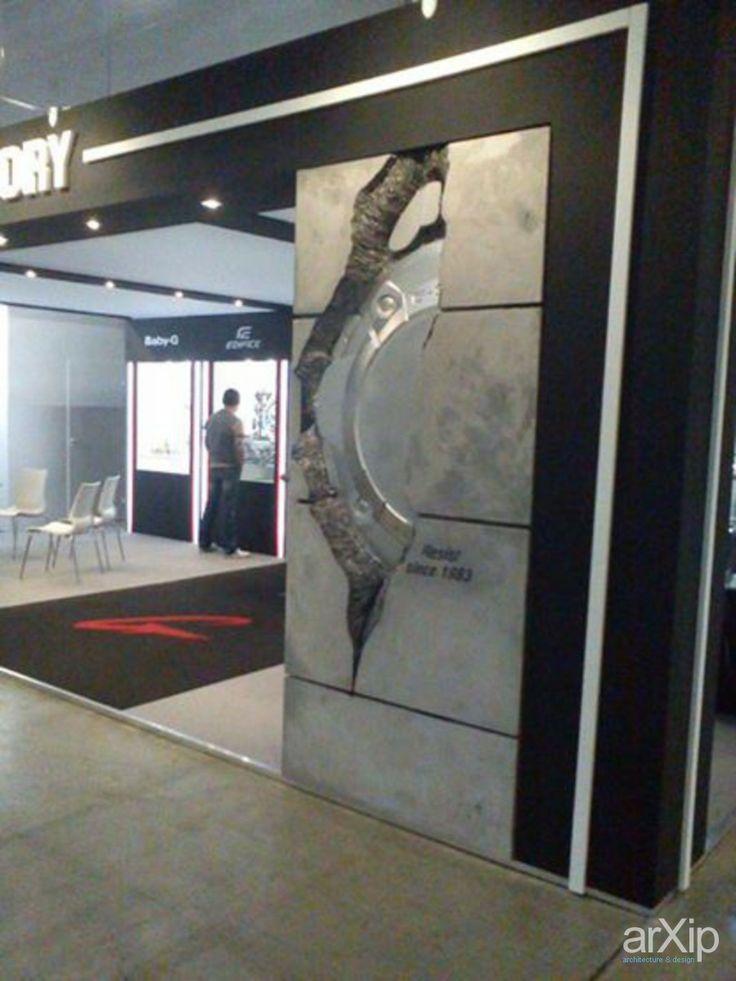 Дизайн стенда: промышленный дизайн, хай-тек, декорация #industrialdesign #hightech #decoration #scene arXip.com