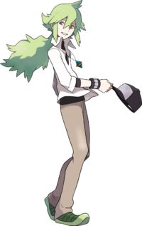 """Natural Harmonia Gropius, more commonlu known by the name """"N"""""""