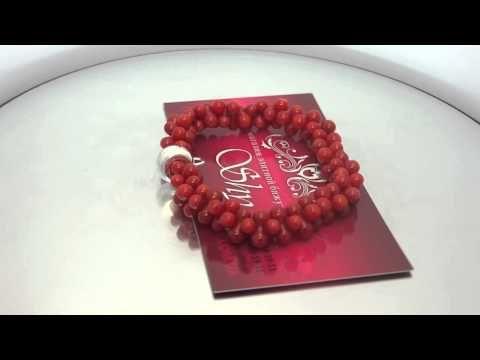"Томас Сабо красные бусины ""Кармин"" ts0042 - YouTube"