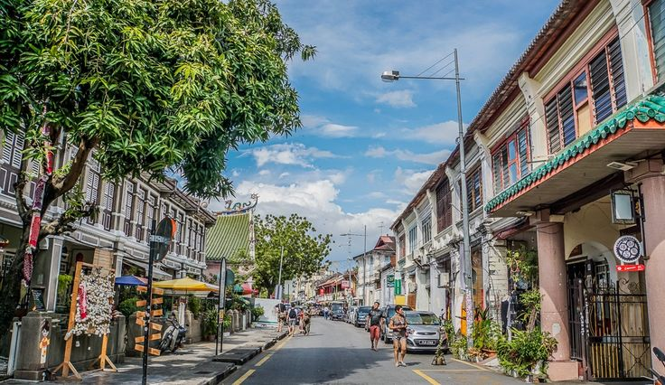 George Town Georgetown Old Town Penang Island Malaysia
