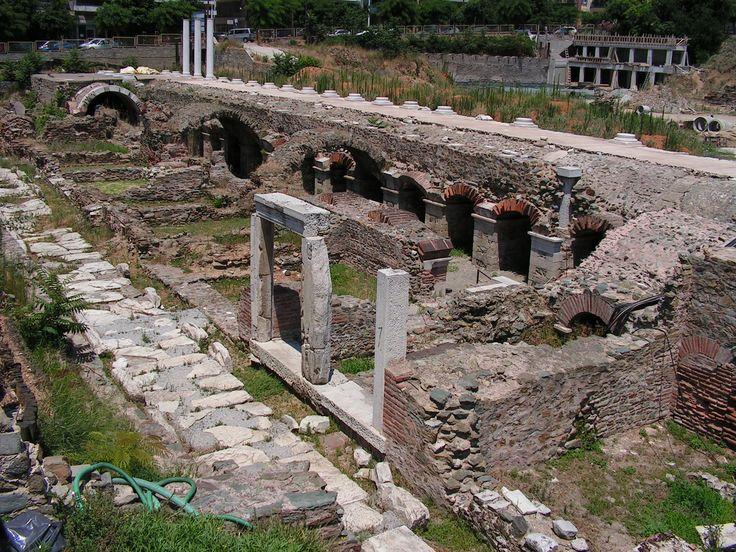 Ancient Agora - Thessaloniki Greece
