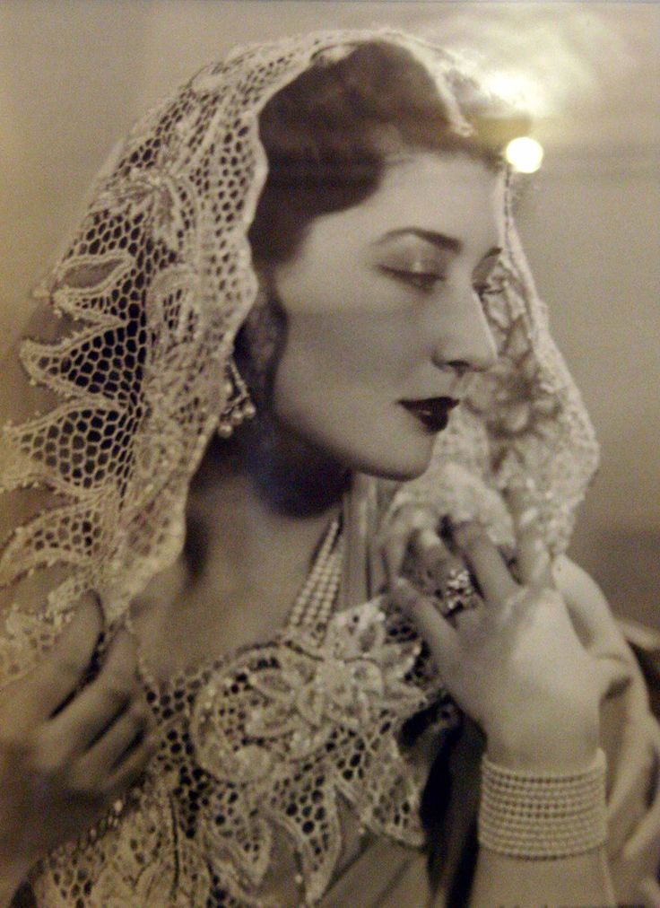 H.H. Princess Nilufer Sultan, a princess of the Ottoman empire. Born at the Göztepe Palace in Istanbul on Jan 4, 1916, she was the only daughter of Damad Moralizada Salar ud-din Bey Effendi. She married Prince Moazzam Jah, the 2nd son of Nizam of Hyderabad, on 21 Feb 1931 in France. She died in Paris, France on Jun 12, 1989.