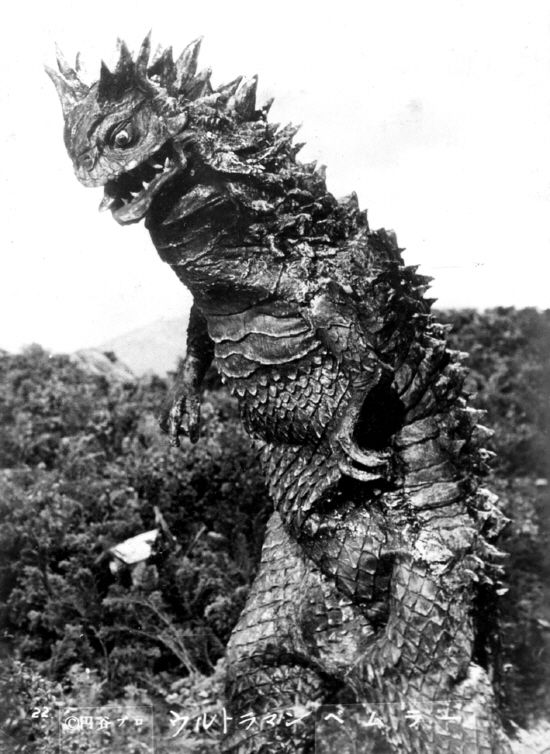 Bemlar the 1st monster on Ultraman.