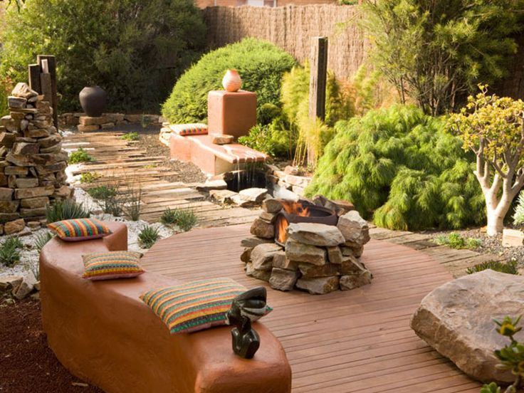 Beautiful Outdoor Fireplaces and Fire Pits | Outdoor Spaces - Patio Ideas, Decks & Gardens | HGTV