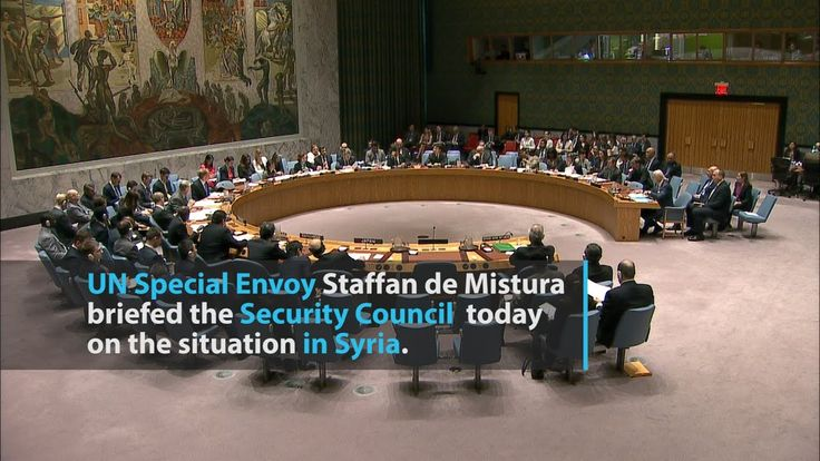Stakes in Syria today 'very high', UN Envoy tells Security Council