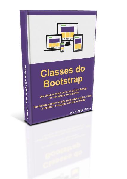 Baixe este ebook com as Classes mais comuns do Bootstrap. Ele serve como uma ajuda para você não precisar ir toda hora procurar na documentação online ou procurar no Google: http://www.rodrigomilano.com.br/ebook-classes-do-bootstrap-2/
