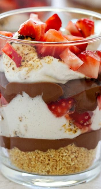 S'mores Trifles