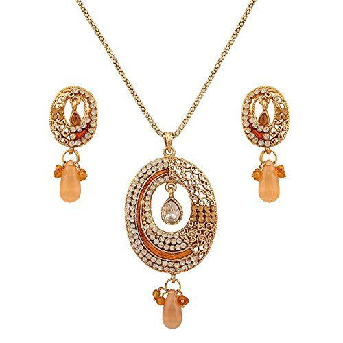 Dazzling Indian Bollywood Orange Gold Plated Women Pendan... https://www.amazon.ca/dp/B06XGSYY4K/ref=cm_sw_r_pi_dp_x_vNpWybMP76ES5