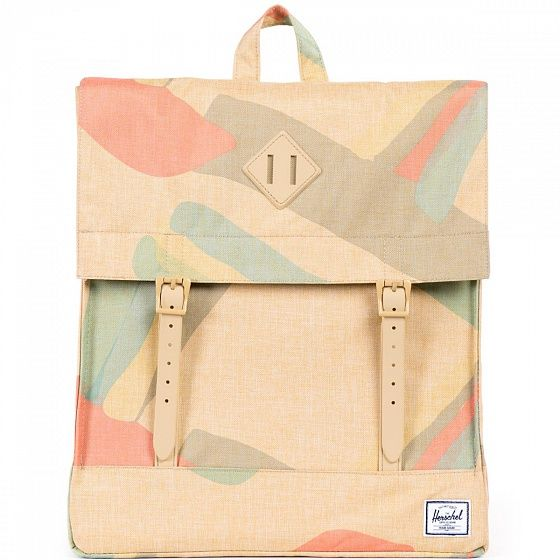 Создайте свой уникальный городской стиль с Herschel Survey. Этот удобный компактный рюкзак с потайным карманом на молнии вместит все необходимые мелочи и отлично дополнит Ваш повседневный стиль.