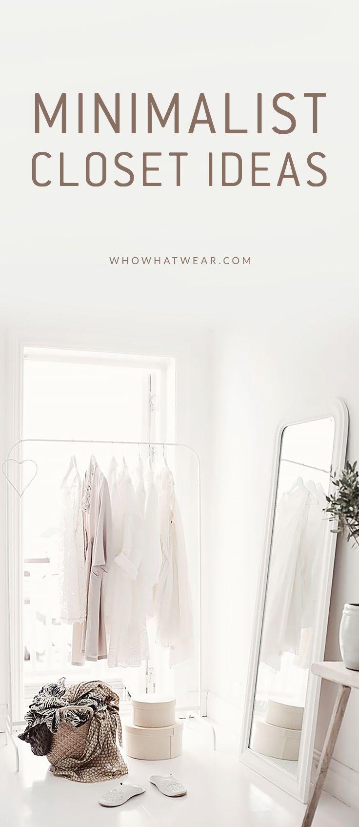 11 Closet Ideas For The Minimalist Girl Closet