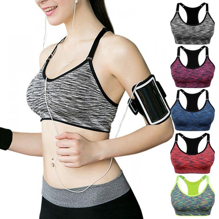 Women Wire-free Adjustable Fitness Bra