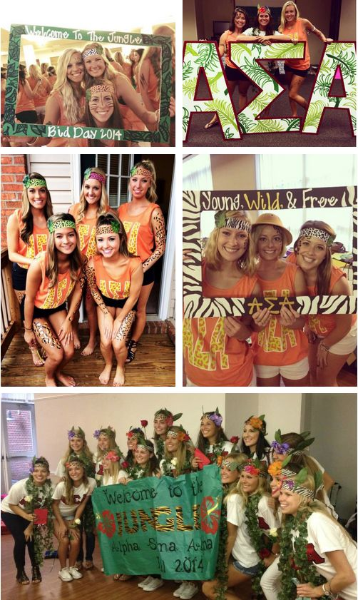 WELCOME to the Jungle! • AΣA • Radford University!
