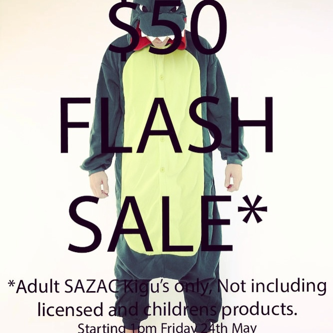 FLASH SALE! Online and in store now! Kiguzoo.com :)