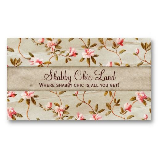 21 best tanning salon business cards images on pinterest salon vintage floral pink shabby chic business card reheart Choice Image