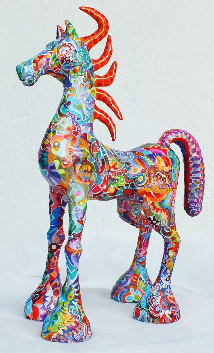Rina Strod Sculpture - my new horse-2