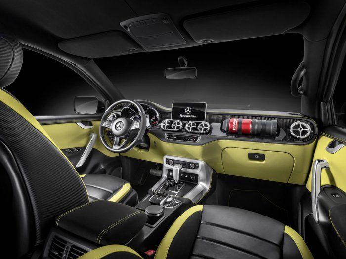 Concepto X-Class: Mercedes-Benz presenta su primera camioneta pick-up | MEGA RICOS