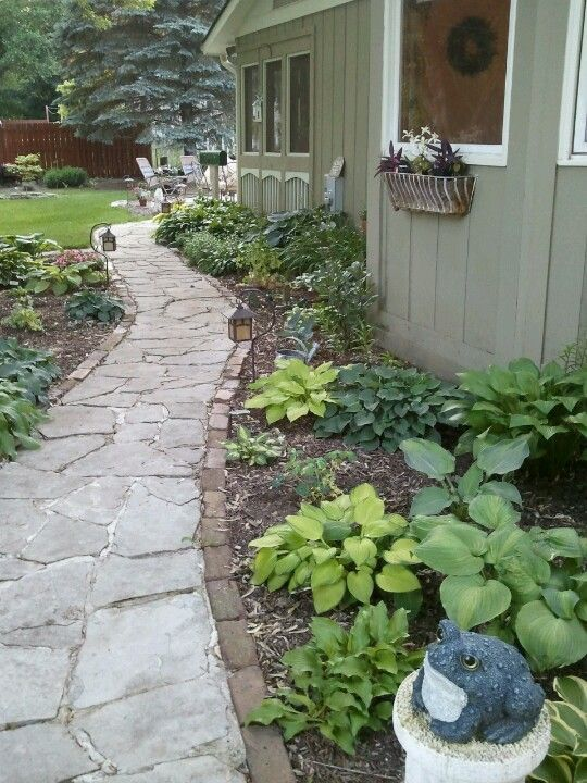 Small Side Yard Landscaping Yards Pinterest