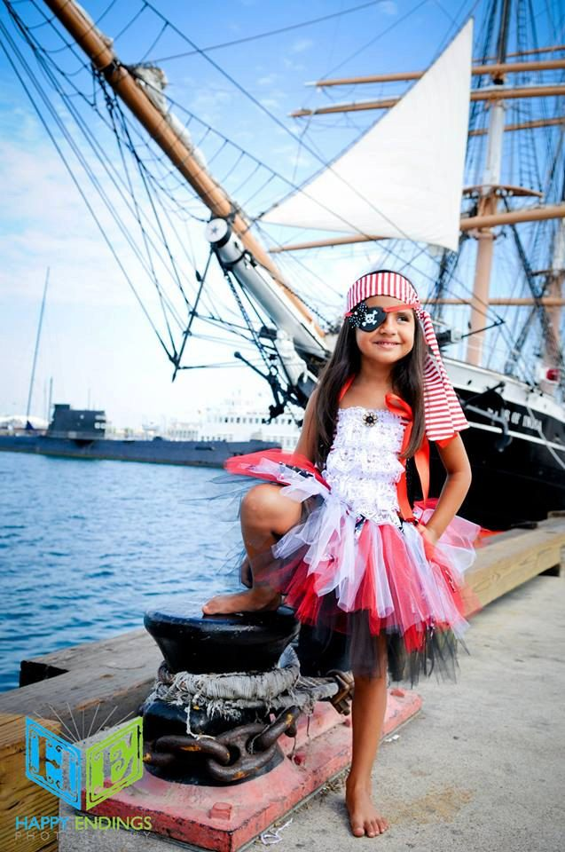 Pirate Costume Pirate Tutu Captain Hook by willowlaneboutiques, $58.00