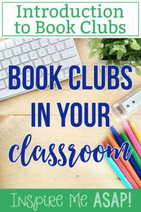 A must-read blog post series about implementing reading book clubs with your second, third, and fourth grade students. This is the first in an eight part series about how to implement book clubs successfully into your primary classroom.