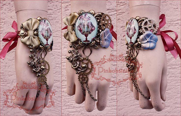 Marie gear cuff by Pinkabsinthe on DeviantArt