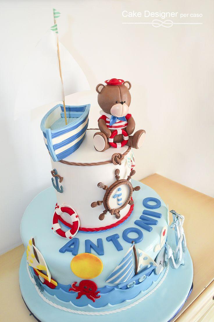 Cake Designer per caso [Marine Cake]