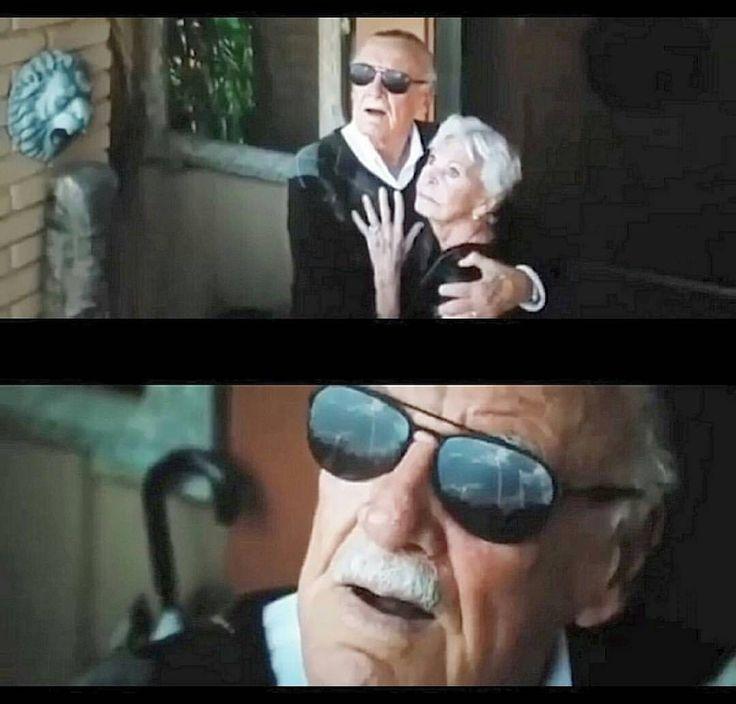 Stan Lee's cameo in X-Men Apocalypse (that's his wife!)