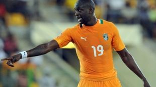 Yaya Toure received the title of best player Africa