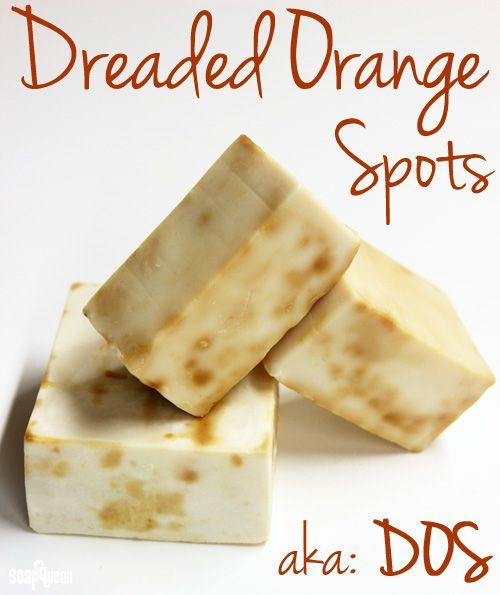 Dealing with Dreaded Orange Spots | Soap Queen