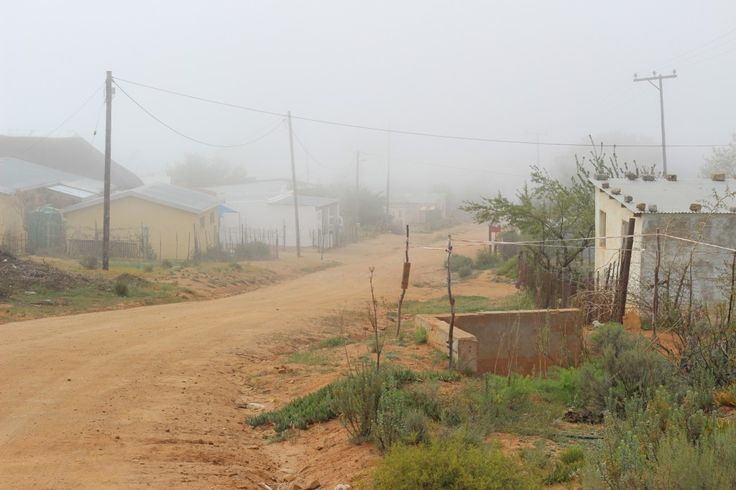 Small town of Leliefontein in  Northern Cape, South Africa