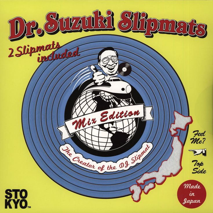 Dr. Suzuki - Tablecloth Slipmat Mix-Edition