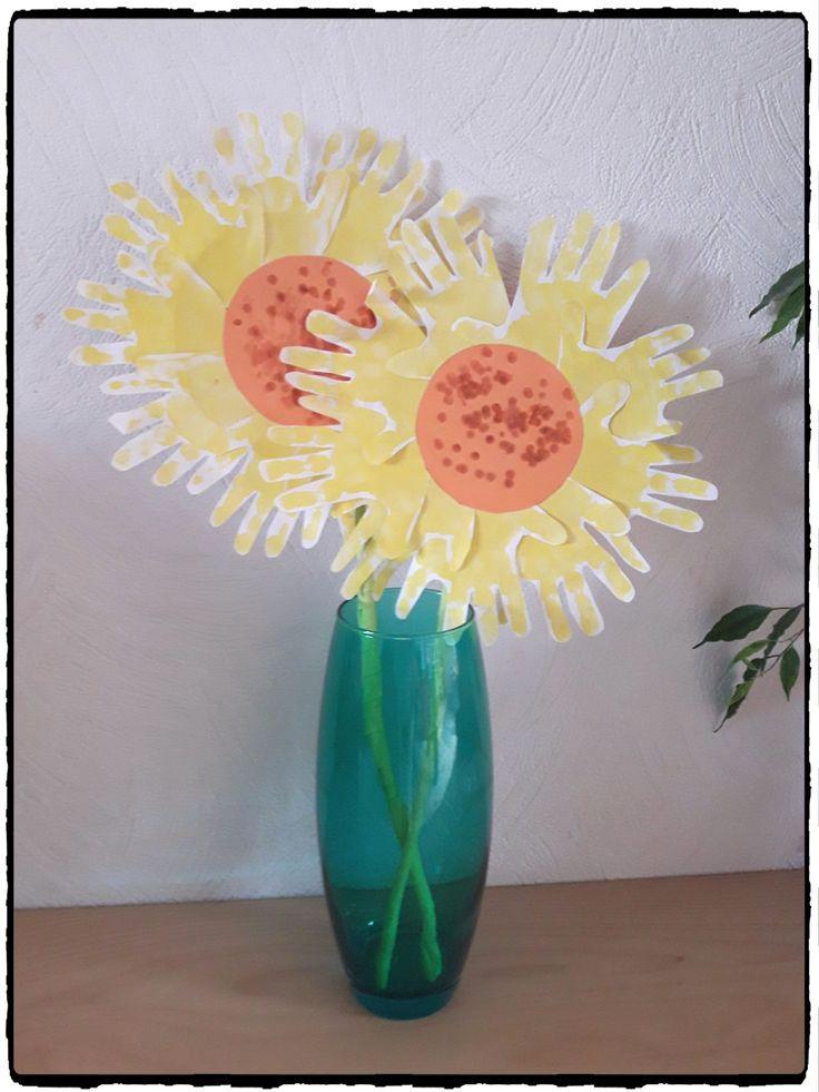 33 best fruits et l gumes cr ations pour enfants images on pinterest children montessori - Bricolage de printemps ...