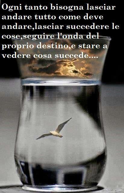 Lasciar andare ....