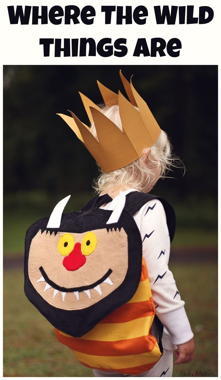 Where the Wild things are backpack