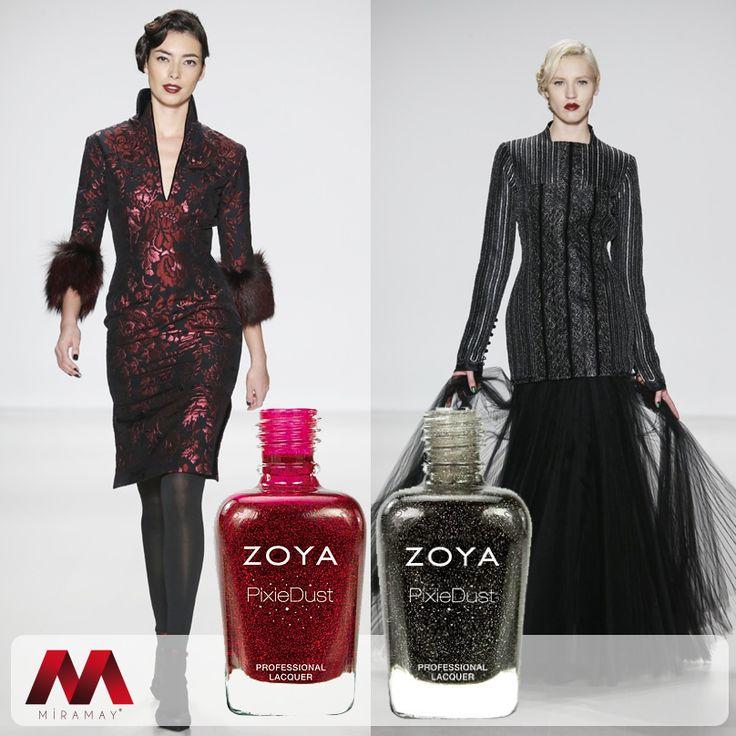 NYFW 2014'de ünlü modacı Zang Toi'nin tercihi Zoya Oje oldu.