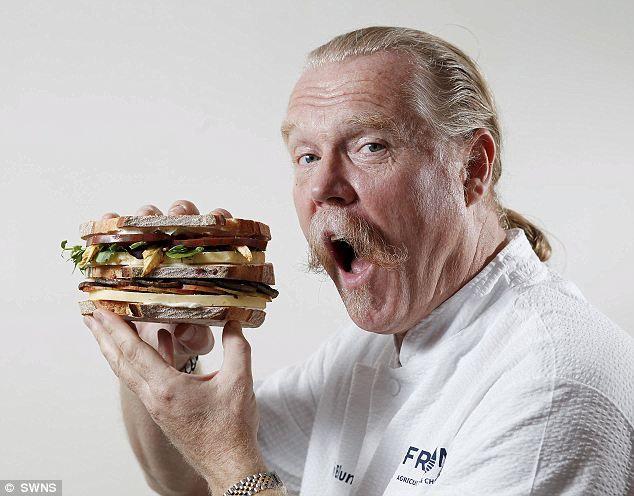 £110.59 Chef Martin Blunos - worlds most expensive cheese sandwich