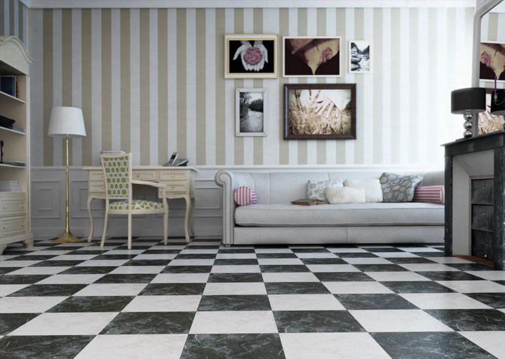 black gloss marble effect floor tiles otono tiles tiles