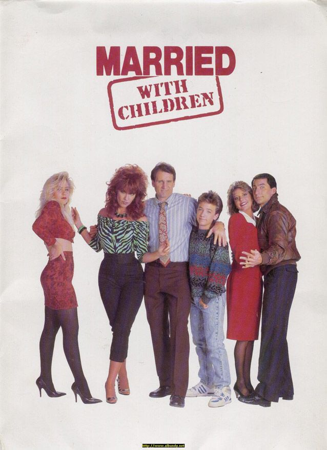 MARRIED WITH CHILDREN @Shannon Camarra this is SO us...we have to do this for halloween